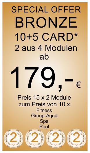Bronze 10+5 Card