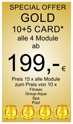 Gold 10+5 Card Special Offer