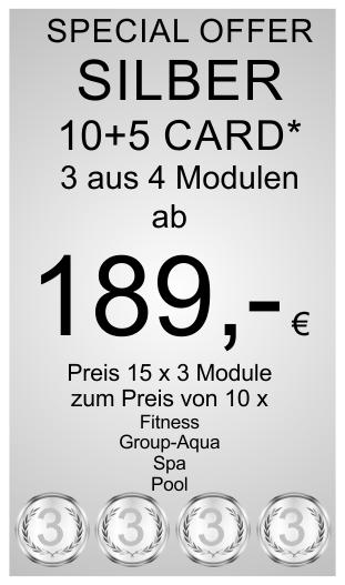 Silber 10+5 Card