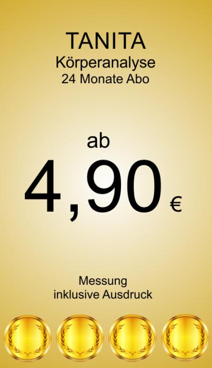 Abbonamento di misurazione del corpo 24 mesi