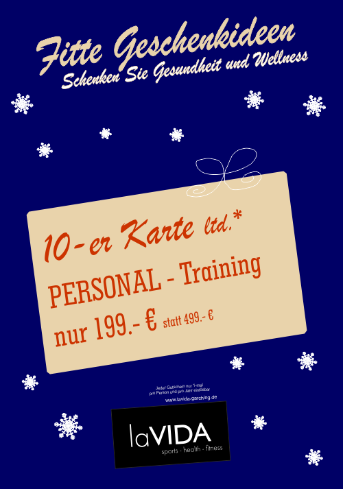 Personal Training 10-er Karte ltd*