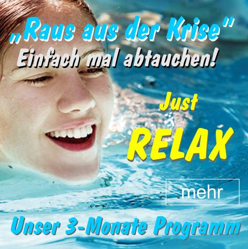 EINFACH MAL ABTAUCHEN - Das 3 Monate Relax-Programm
